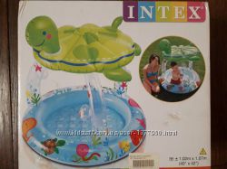 Детский надувной бассейн от 1 года Черепашка