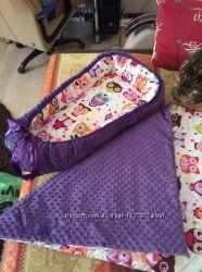 Детское одеяльце пледик постельное