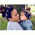 Повязка на голову Мама дочка, солошки для мамы и дочки, набор дочь солоха