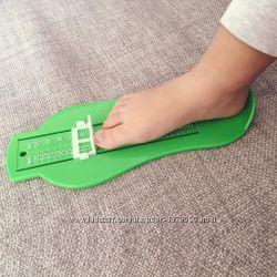 Прибор для измерения стопы, стопомер детский, сантиметр мерка Хайдера