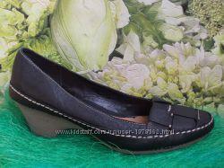 Шкіряні туфельки Сlarks