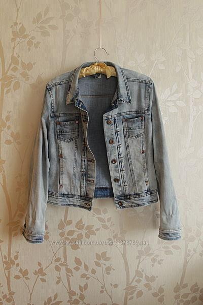 Куртка джинсовая Bershka Original размер ХL mex 32