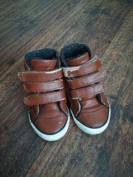 Демисезонные ботинки, хайтопы для мальчика, р. 24