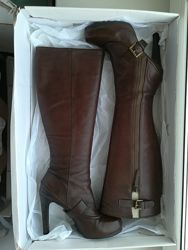 Шикарные кожаные сапоги Nine West, р. 36, 5