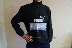 Спортивная кофта мастерка ветровка PUMA мальчик подросток