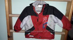 Зимняя куртка Spider-Man марвел на 2 года
