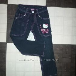 Фирменные джинсы - Hello Kitty, на рост 110