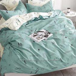 Детское полуторное постельное белье Viluta сатин 227 абстракция