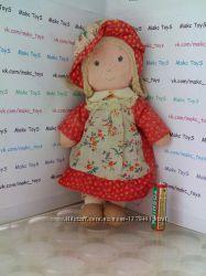 кукла Carrie  Holly Hobbies Friend 1974 Knickerbocker Miniature Rag Doll