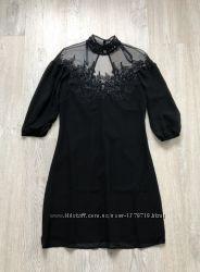 Вечернее платье женское Little Mistress чёрное выпускное коктейльное нарядн