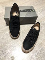 Кеды Clark&rsquos оригинал кожаные 40 размер чёрные