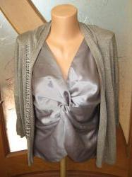 Комплект корсет и пиджак-накидка с люриксовой нитью.