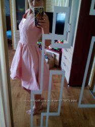 Новое нарядное платье с удлинённым подолом
