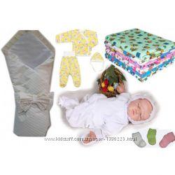 Акция Набор в роддом Малыш Люкс с конвертом