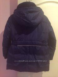 Очень красивое теплое итальянское пальто Original Marines на 5-6 лет