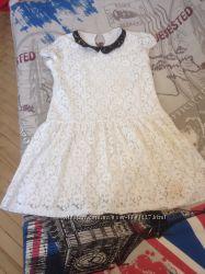 Очень красивое ажурное платье
