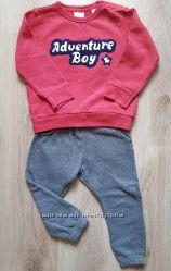 Костюм Zara кофта, свитшот, штаны, джогеры