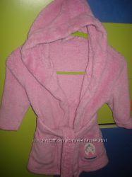 Халат махровый и пижама EARLY DAYS на девочку 12 месяцев