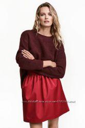 Вязаный свитер оверсайз от h&m с шерстью