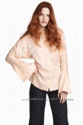 Шелковая блузка h&m conscious exclusive