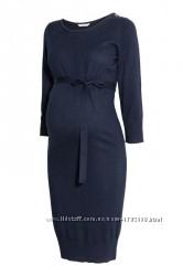 Платье для беременных с шерстью альпаки h&m mama