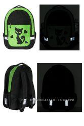 Школьные рюкзаки - ткань Кринкл, заметны и днём и ночью, в комплект - сумка