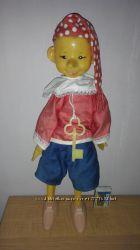 Игрушка кукла Буратино с ключиком. Кругозор 1979 год. Винтаж ретро