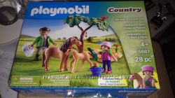 Конструктор playmobil.  Код 5687. Ветеринар с пони