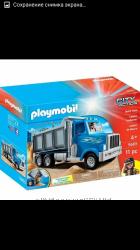 Playmobil.  мусоровоз и самосвал . Новые. Оригинал