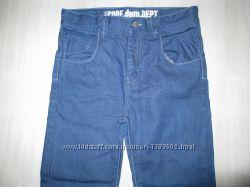 Джинсы, зауженные брюки на 9 - 11 лет