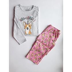Трикотажная пижама для девочек, Primark