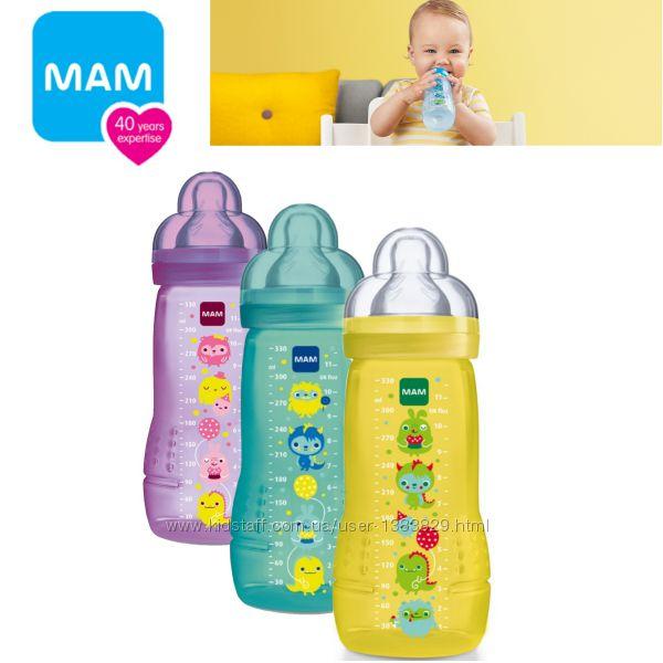 Бутылочка-поильник MAM Baby Bottle 330 мл. 4 Мес.