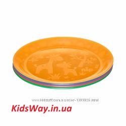 Тарелка для кормления, многоцветная NIP GERMANY