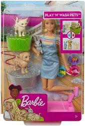 Купай и играй Барби и питомцы Barbie Play N Wash Pets