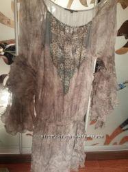 Красивенное шелковое платье  Patrizia Pepe р. М