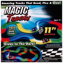 Флуоресцентный Меджик трек Magic track 165 деталей