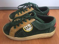 Продам замшевые ботиночки, размер 27