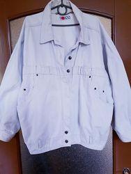 Дизайнерская винтажная джинсовая куртка джинсовка бойфренд оверсайз YOKOO.