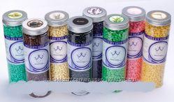 Воск пленочный в гранулах для депиляции Konsug beans 400 g в банке, разные а
