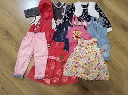 Пакет вещей девочке 1-3 год