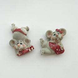 Набор магнитов Крыса- Мышка с сердечком