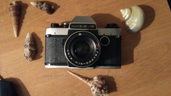 Зеркальный фотоаппарат Киев-19. В идеальном рабочем состоянии