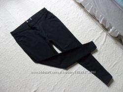 Cтильные черные джинсы джеггинсы скинни M&S, 16-18 размер