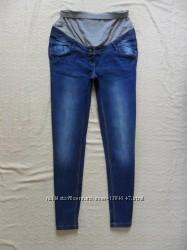 Стильные джинсы скинни для беременных C&A, 12 размер.