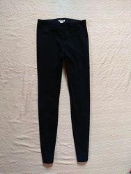 Стильные черные джинсы скинни с высокой талией H&M, 36 pазмер.