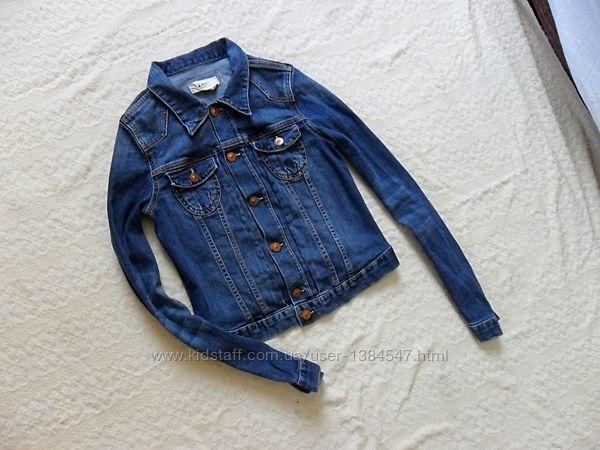 Брендовая джинсовая куртка H&M, 40 размер.