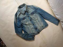 Брендовая джинсовая куртка New look, 12 размер.