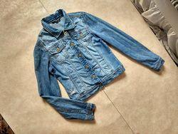Брендовая джинсовая куртка Tally Weijl, 38 размер.