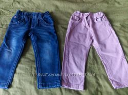 джинсы на девочкк