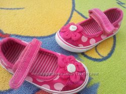 Текстильные туфли-мокасины Matalan англ. р-р 7 наш 24 стелька 15 см